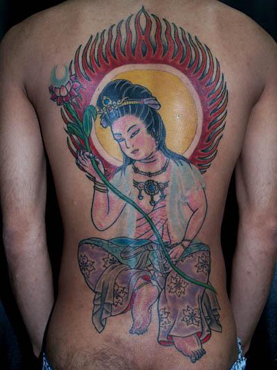 Woman Full Body Tattoo